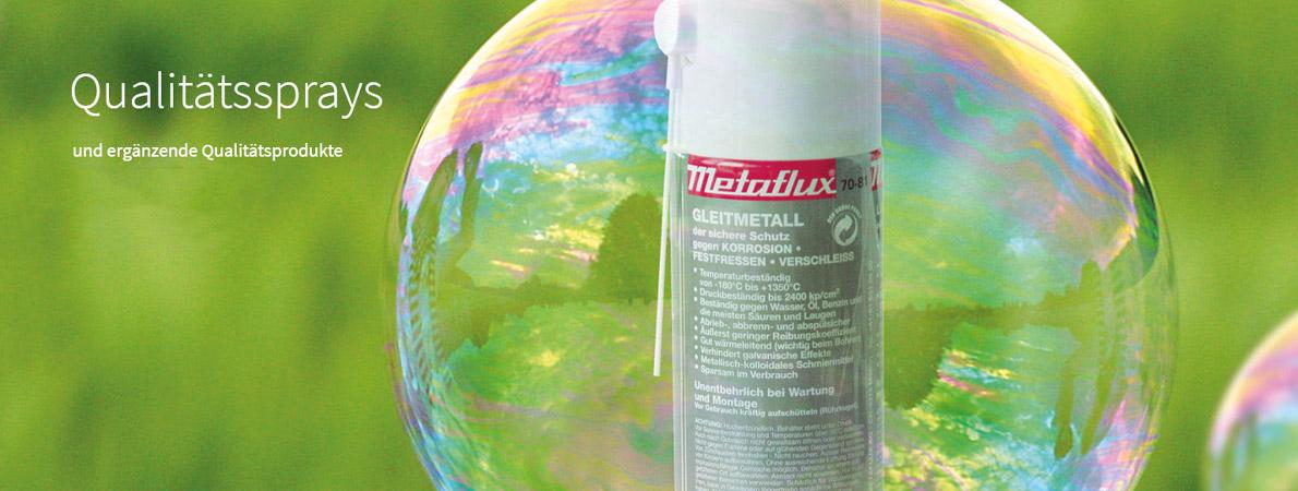 Gleitmetall Qualitaetssprays